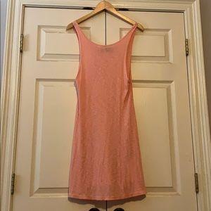 MinkPink peach dress